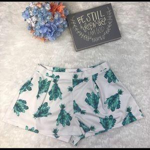⚡️1 day flash sale⚡️ leaf print shorts